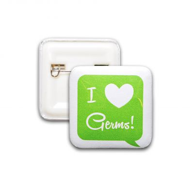 I Love Germs, helse-pin