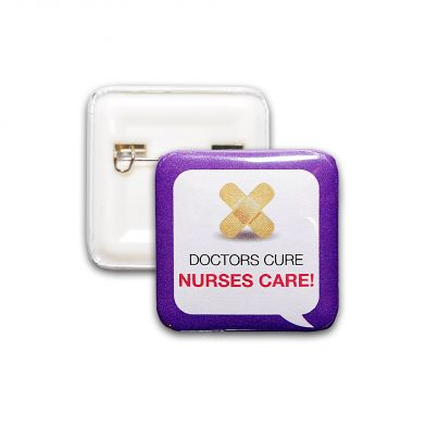 Doctors Cure Nurses Care!, helse-pin