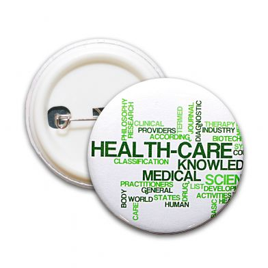 Health-Care, helse-pin