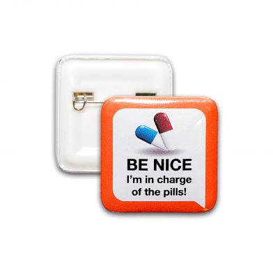 Be Nice, helse-pin