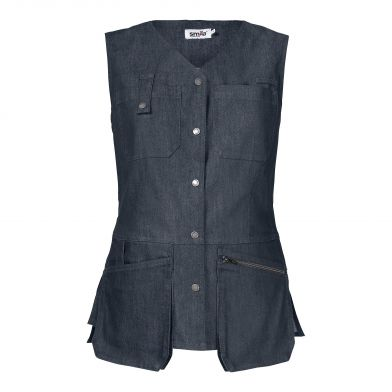 Smila Denim vest, Blå