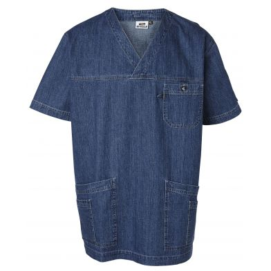 Nytello Kittel denim Unisex, Cotton Club, Blå