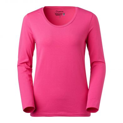 South West Langarmet T-shirt Lily, cerise