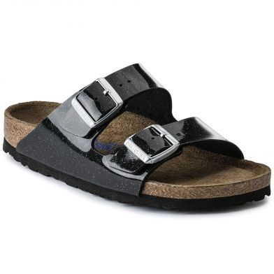 Birkenstock Arizona Narrow Galaxy Black Sandal