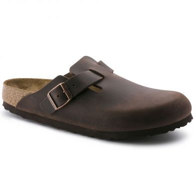 Birkenstock Boston Narrow Habana Sandal