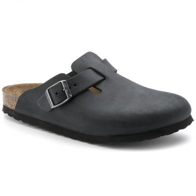 Birkenstock Boston Narrow Black Sandal