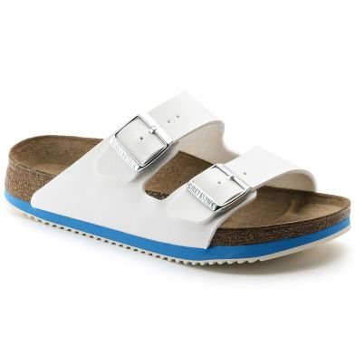 Birkenstock Professional Arizona Narrow White/Blue Sandal