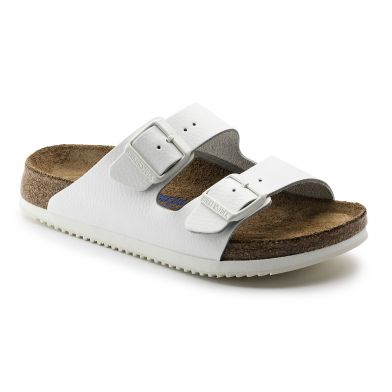 Birkenstock Professional Arizona Narrow White Sandal