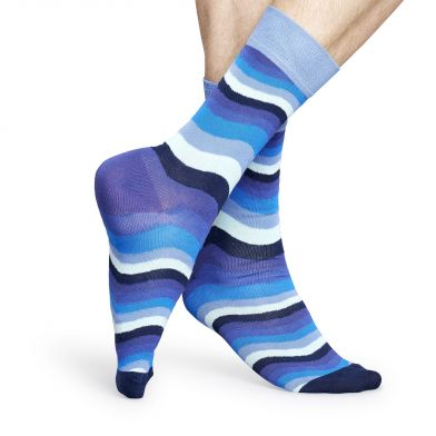 Happy Socks Wavy Stripe Sock