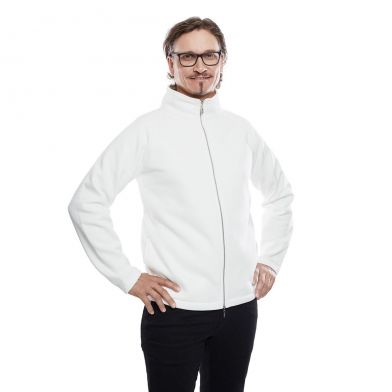 WAW Mens Sweatshirt Natural White