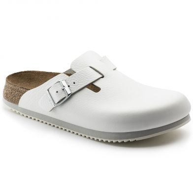 Birkenstock Professional Boston Narrow White Sandal
