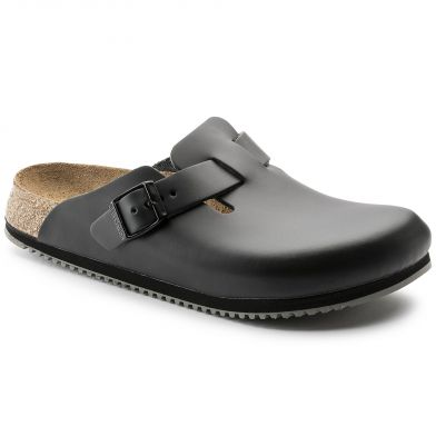 Birkenstock Professional Boston Narrow Black Sandal