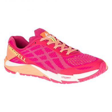 Merrell Bare Access Flex E-Mesh Hot Coral Sneakers