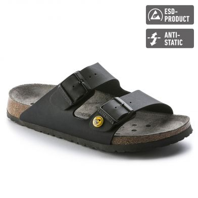 Birkenstock Professional Arizona ESD Narrow Black Sandal