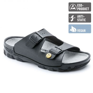 Birkenstock Professional Toulon ESD Vegan Regular Black Sandal
