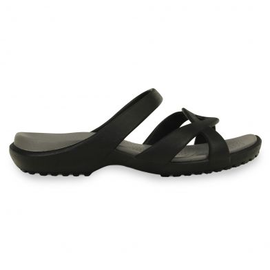 Crocs Meleen Twist Black/Smoke Sandal