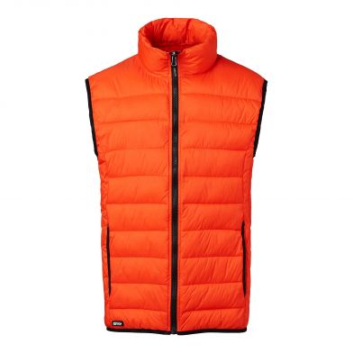 South West Ames Orange Vest Herre