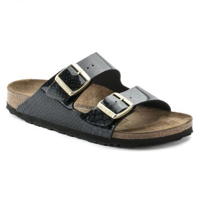 Birkenstock Arizona Narrow Magic Snake Black Sandal