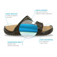 MBT Recovery sandal