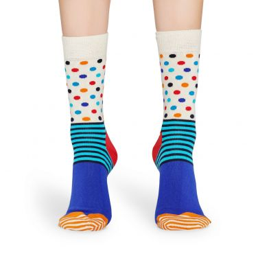 Happy Socks Stripe & Dots Sock