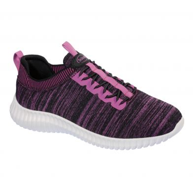 Scholl Chilly Black/Fuxia Sneakers