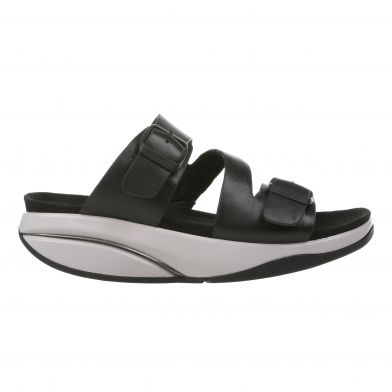 MBT Kace Black Performance Slip-in Sandal Dame