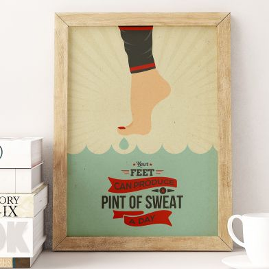 "Plakat ""Sweat"""