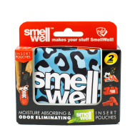 SmellWell Blue Leopard 2 pack