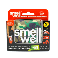 SmellWell Green Camo 2 pack
