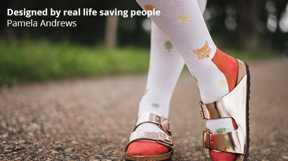 Pamela Andrews - Designed by real life saving people!
