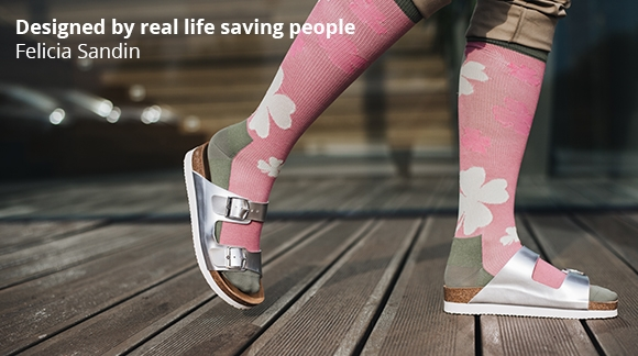Felicia Sandin - Designed by real life saving people!