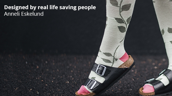 Anneli Eskelund - Designed by real life saving people!