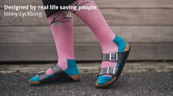 Jenny Lyckborg - Designed by real life saving people!